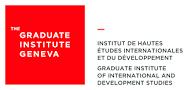 Graduate Institute of International and Development Studies Logo